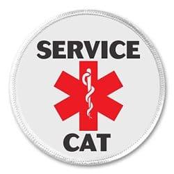 Service Cat Badge