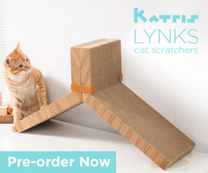 Introducing KATRIS Lynks The Best Cat Scratcher in the World