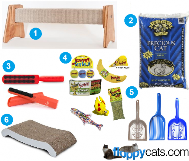 Triggs 7th Birthday Favorite Cat Products Giveaway