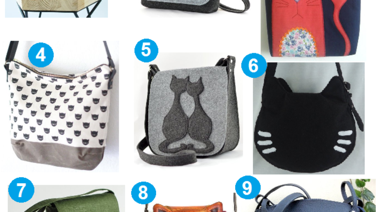 44d0ca83d96 9 Cute Etsy Purses with Cats on Them