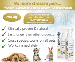Pet Remedy Natural De-Stress and Calming Sprays and Diffusers