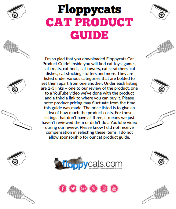 Floppycats Cat Product Guide