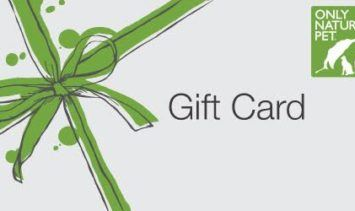 Gift Card to OnlyNaturalPet