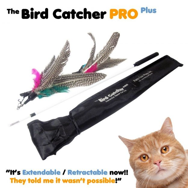 Bird Catcher PRO Plus Cat Feather Wand Toy 7