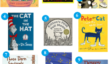 Favorite Childrens Books that Feature Cats