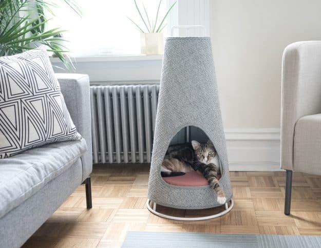 WISKI Modern Cat Furniture Scratcher and bed