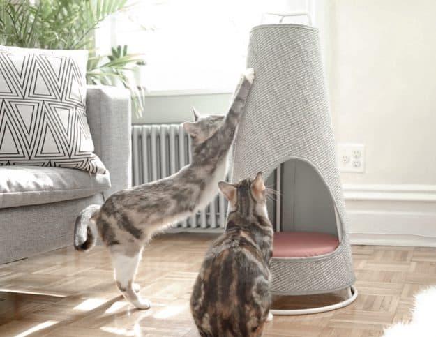 WISKI Modern Cat Furniture cat Scratcher