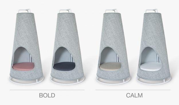 WISKI Modern Cat Furniture cat Scratcher Kickstarter Launch Colors