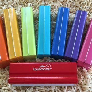 EquiGroomer cat deshedding tool colors