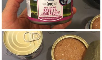 ZiwiPeak Canned Cat Food Rabbit and Lamb Product Review IMG_7907