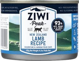 ZiwiPeak Canned Cat Foood Lamb Recipe Video