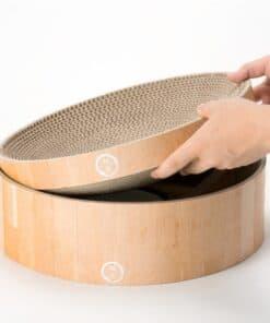 Necoichi Cat Cozy Scratcher Bowl Product Review 3