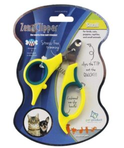 Zen Clipper Pet Nail Clippers - The Worry-Free Nail Scissors - Unique Blade Clips The Tip Not The Quick