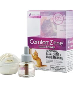 Comfort Zone Feliway Diffuser Kit for Cat Calming