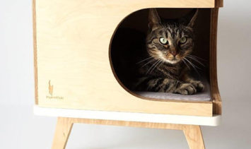 PurrFur Stylish Modern Cat House