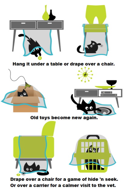 How Sheer Fun for Cats Works