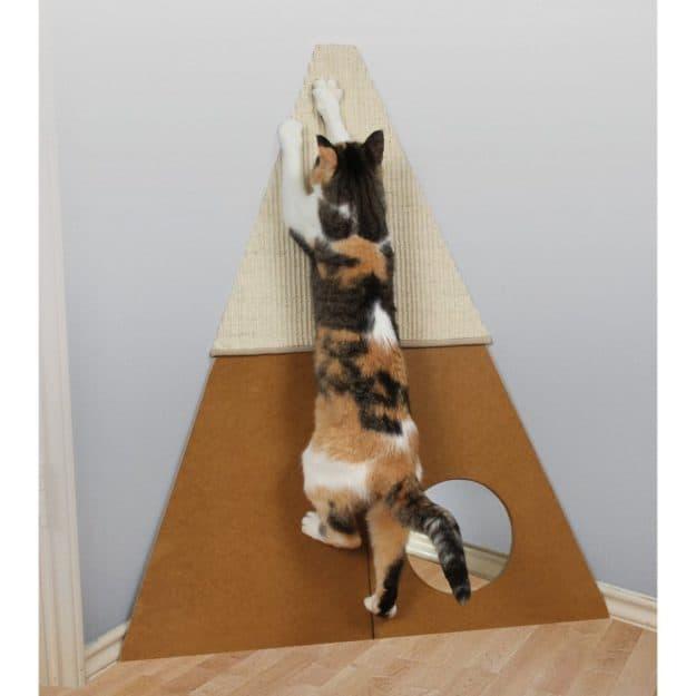 Pioneer Pet Smart Cat Bootsies Corner Cat Scratcher