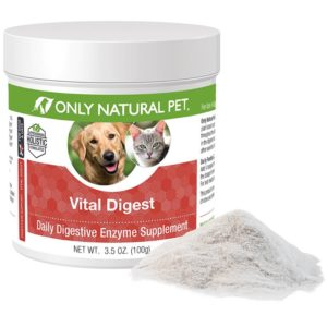 Digestive Enzymes for Cats - Only Natural Pet Vital Digest