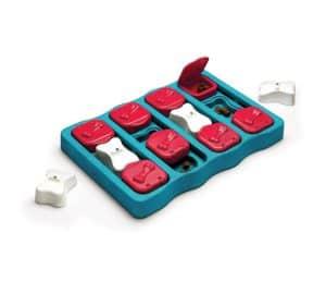 Outward Hound Nina Ottoson Dog Brick Treat Puzzle Dog Toy