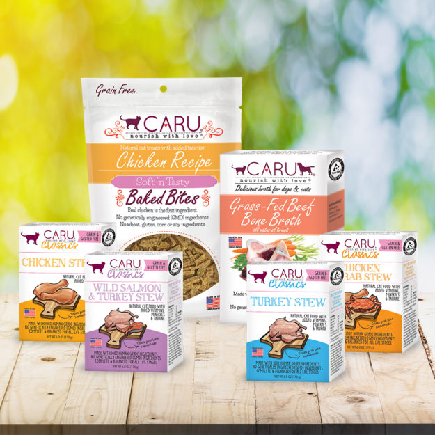 Caru Cat Food Products Giveaway Floppycats March 2019