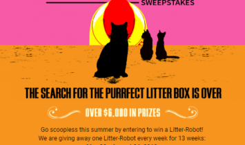 Litter-Robot Giveaway: The Scoopless Summer