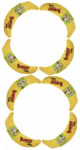 Yeowww Catnip Bananas Rags Birthday 8-8-89