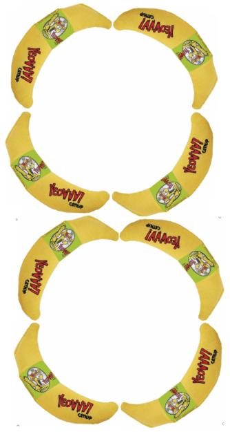 Yeowww Cataire Bananes Chiffons Anniversaire 8-8-89