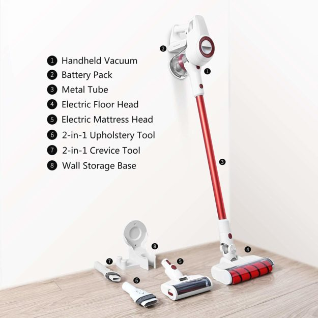 Jimmy JV51 Stick Vacuum Cleaner August 2019 Giveaway