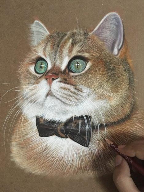 Ivan Hoo Cat Artist Painter IMG_7403