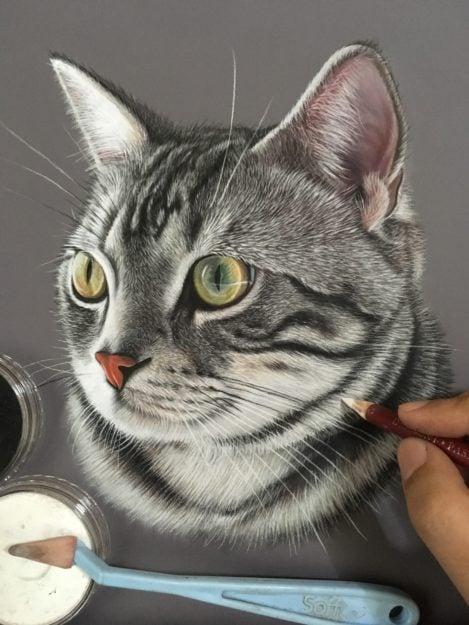 Ivan Hoo Cat Artist Painter IMG_8454