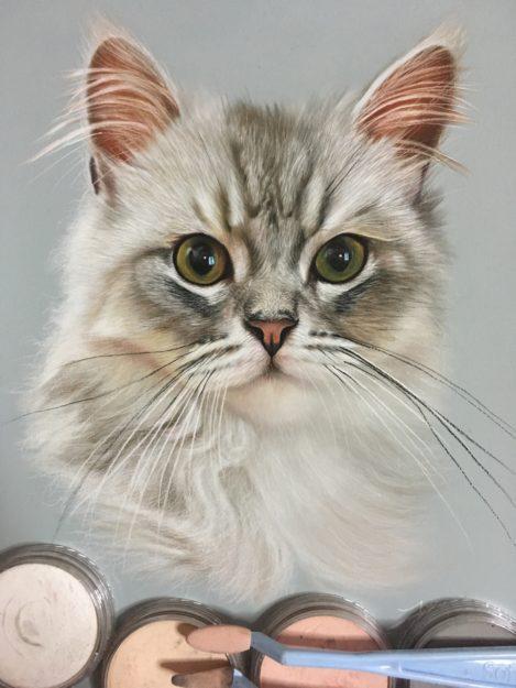 Ivan Hoo Cat Artist Painter IMG_8655