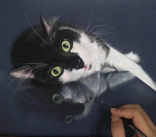 Ivan Hoo Cat Artist Painter IMG_9663