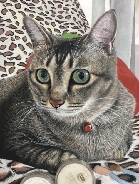 Ivan Hoo Cat Artist Painter IMG_E4386
