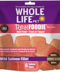 Whole Life Pet Products Healthy Treat or Meal Mixer for Cats, Human-Grade realFoodie Whole Boneless