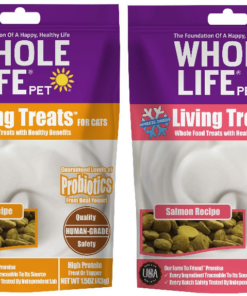 Whole Life Pet Living Treats for Cats Blended with Probiotics