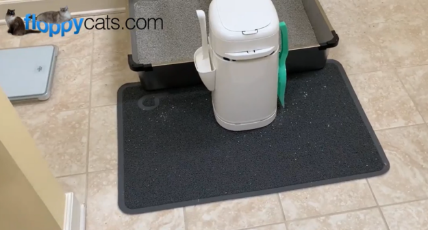 best cat litter mat Litterbox Litter Mat Product Review