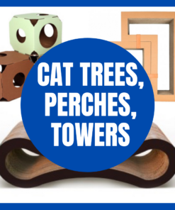 Cat Trees, Perches, Towers
